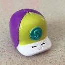 NEW Shopkins Season 3 Moose Toys Rare #3-019 Purple Casper Cap Hat