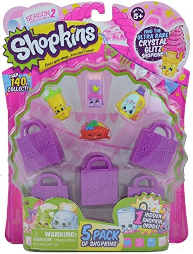 ASIN:B00XTDD2QE TAG:shopkins-season-2-5-pack