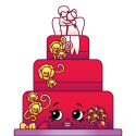 #3-017 - Wendy Wedding Cake - Rare