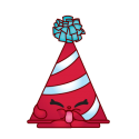 #4-070 - Marty Party Hat - Common